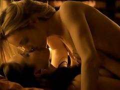 Zoie Palmer And Anna Silk Nude Lesbo Scene In Lost Girl Seri...