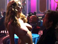 Eva Amurri topless gives hot lap dance