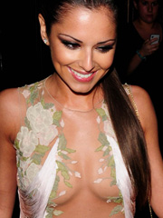 Cheryl Tweedy see through mega cleavage