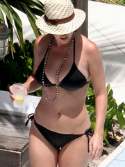 Katy Perry bikini fat breasts are amazing