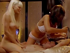 Bojana Novakovic And Peta Sergeant Threesome Sex In Satisfac...