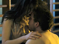 Astrid Berges-Frisbey topless hot sex scene