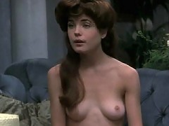 Elizabeth McGovern topless shows nice breasts