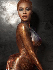 Beyonce Knowles nude for flaunt magazine