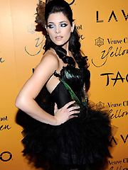 Ashley Greene sexy in halloween costume