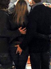 Jennifer Aniston ass grabbed and fingered