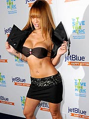 Tila Tequila playboy starlet showing her tits