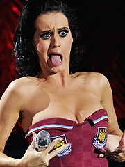 Katy Perry nice boobs in sexy bikini