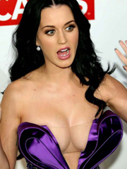Katy Perry flashes cleavage of the year