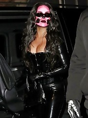 Rihanna Hot Costume for Halloween Pary in London