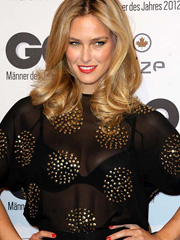 Bar Refaeli oops see through dress to bra