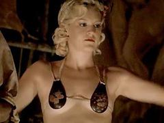 Carla Gallo boobs in hot skimpy bikini top