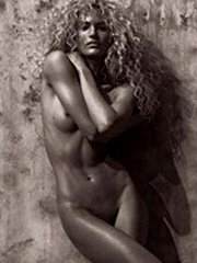 Candice Swanepoel naked for muse magazine