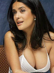 Salma Hayek awesome latina chesticles