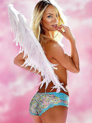 Candice Swanepoel is one damn hot angel