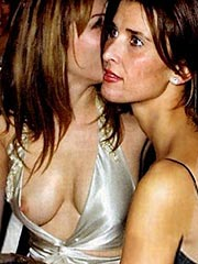 Elizabeth Hurley nipple slip and big boobs