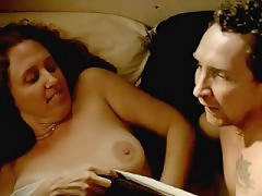 Brooke Smith topless having sex with a guy