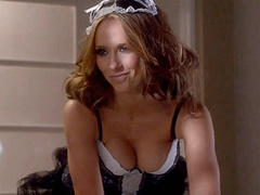 Jennifer Love Hewitt hot in french maids outfit