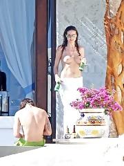 Heidi Klum Tits Flashing With Tom Kaulitz In Mexico