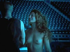 Alexa Davalos Nude Sex On The Stadium in 'Feast of Love'