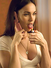 Megan Fox is a very naughty cheerleader