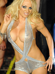 Pamela Anderson and her fashionable fake boobs