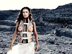Salma Hayek Nude Tits Scene In 'Frida' Movie