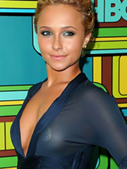 Hayden Panettiere see through