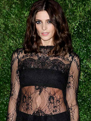 Ashley Greene see through top at the premiere
