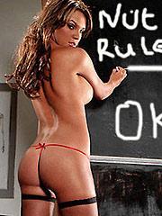 Danielle Lloyd ass looks divine in soft thongs