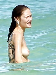 Catherine McNeil Nude Boobs and Pussy Flash