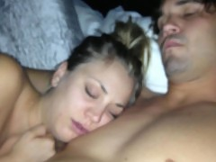 Kaley Cuoco Leaked Nude Cellphone Video From Her Bed