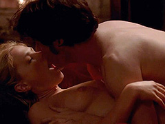 Anna Paquin nude has sex with a vampire
