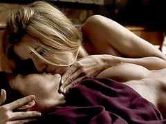 Elena Anaya nude in hot lesbian sex scene
