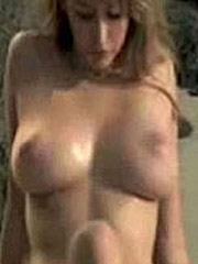 Keeley Hazell big boobs and sex tape vidcaps