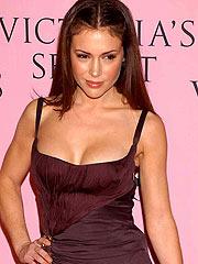 Alyssa Milano various pics of her nice boobs