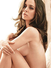 Eliza Dushku posing amazingly hot in lingerie