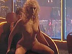 Elizabeth Berkley stripping nude and licking nips