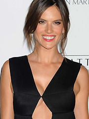 Alessandra Ambrosio sexy on the red carpet