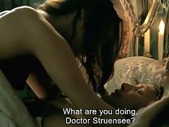 Alicia Vikander Pointed Juicy Boobs In A Royal Affair Movie