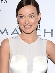 Olivia Wilde looking beautiful in white dress