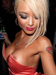 Tila Tequila flashes more than just cleavage