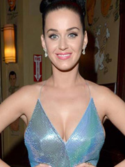Katy Perry busting out some nice cleavage