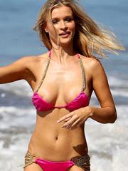Joanna Krupa oops boob slip in a bikini