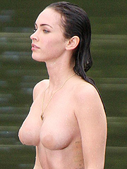 Megan Fox got beautiful nude boobs