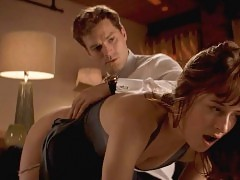 Dakota Johnson Nude Butt Slapping Scene From 'Fifty Shades...