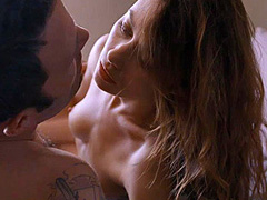 Olga Kurylenko naked during hot love scene
