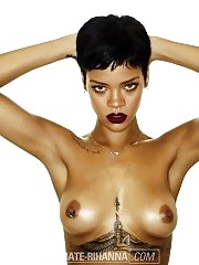 Rihanna Topless For 'Unapologetic' Album — Perfect Pie...
