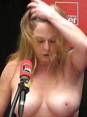 Comedian Constance Pitard Nude Public Topless