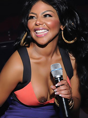 Lil Kim oops slipping big black nipples